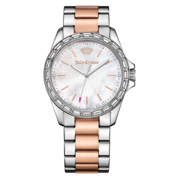 Juicy Couture Laguna Watch For Women with Rose Gold Plated Bracelet