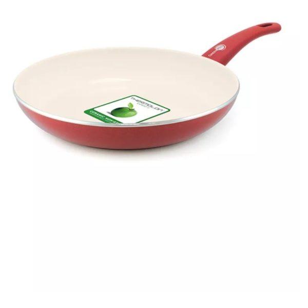 Greenpan Soft Grip Aluminum Ceramic Non Stick Fry Pan 30cm GP1184