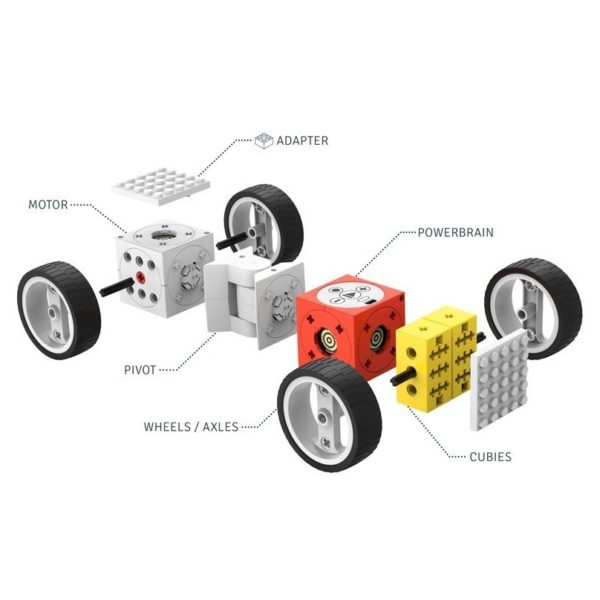 Tinkerbots Wheeler Robot Toy Set 00015