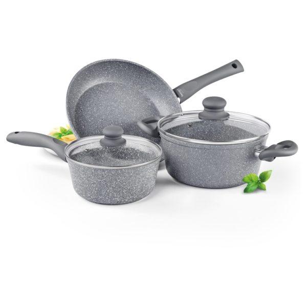 Lamart Stone Cooking Set 5Pcs Grey LT1095