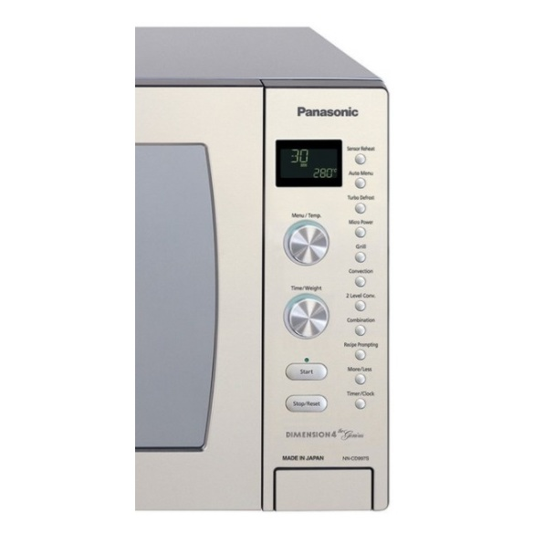 Panasonic Microwave Oven NN-CD997S