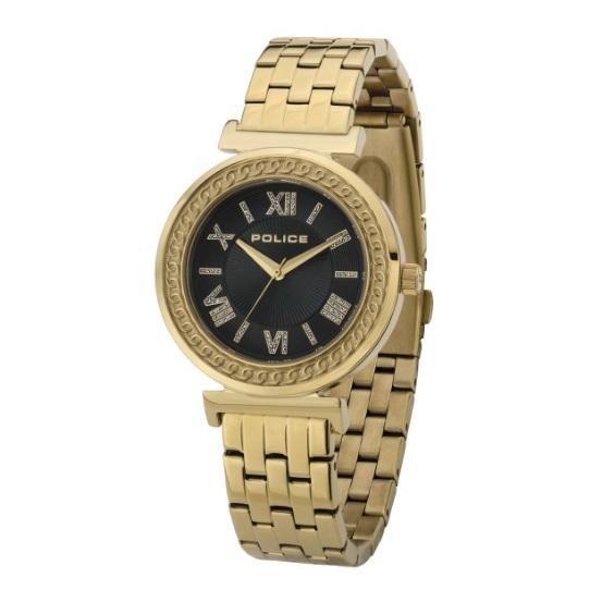 Police P 14880MSG-D19M Sterling Ladies Watch