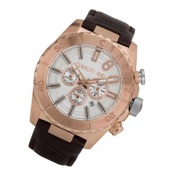 Cerruti 1881 CRWA188SR01BR Marane Mens Watch