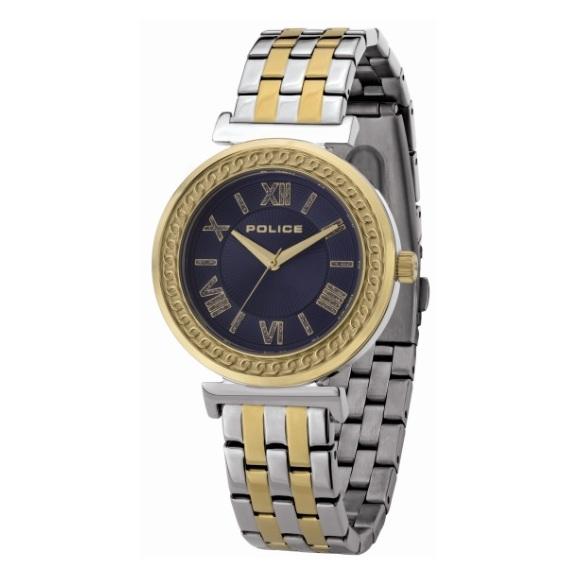 Police P 14880MSTG-D03M Sterling Ladies Watch