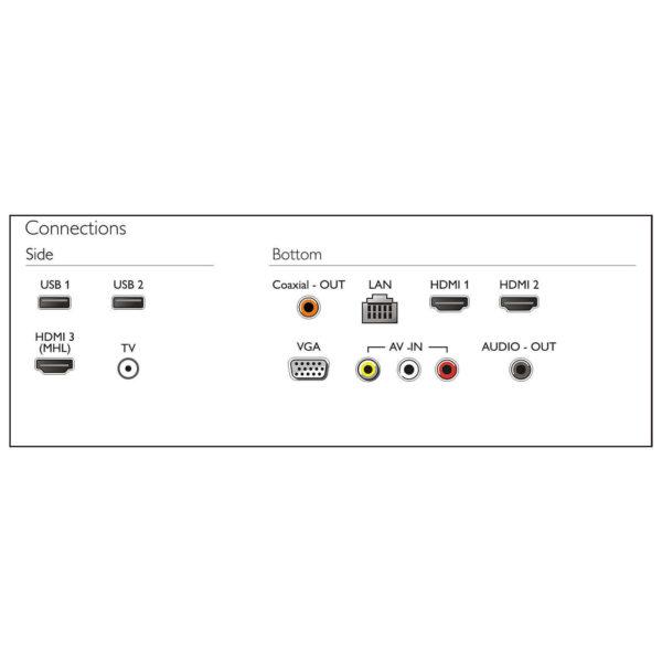 Philips 43PUT6002 4K UHD Ultra Slim Smart LED Television 43inch