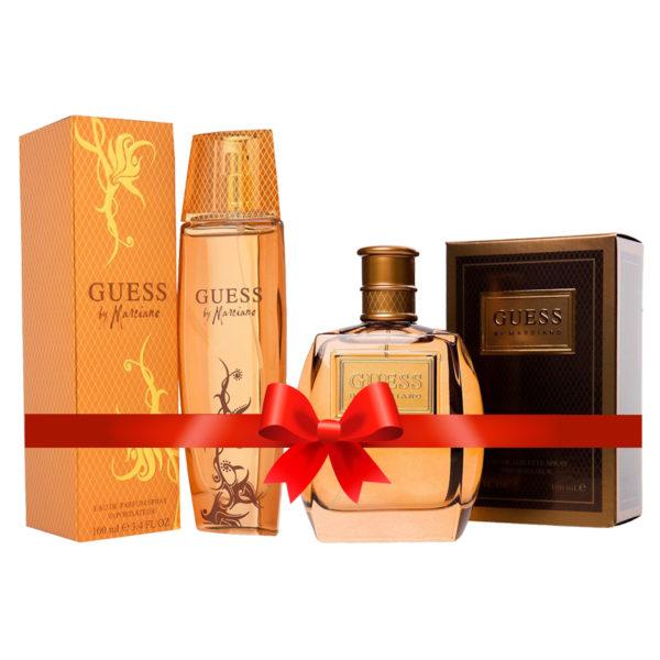 Guess Marciano Perfume For Women 100ml Eau de Toilette + Guess Marciano Perfume For Men 100ml Eau de Toilette