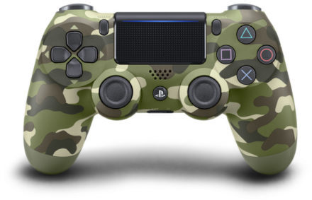 Sony PS4 Dual Shock 4 V2 Wireless Controller Green Camouflage