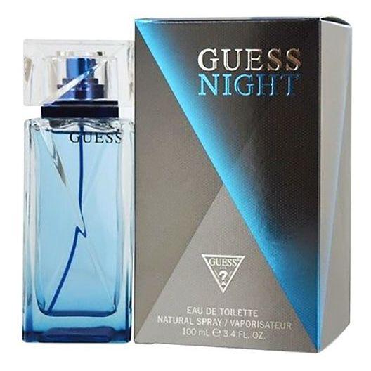 Guess Girl Perfume For Women 100ml Eau de Toilette + Guess Night Perfume For Men 100ml Eau de Toilette