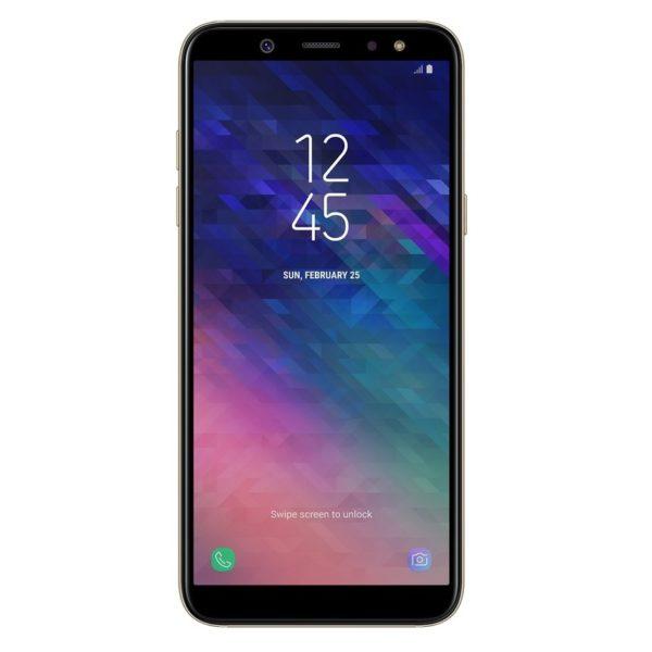 Samsung Galaxy A6 64GB Gold 4G LTE Dual Sim Smartphone