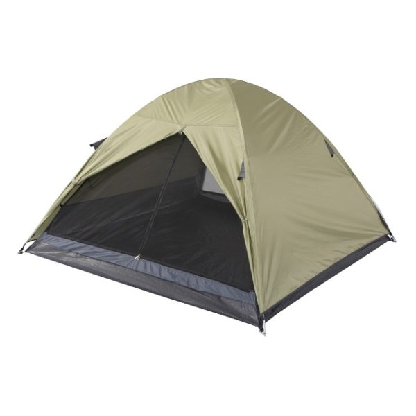 Oztrail DTM3PC Flinders 3P Dome Tent Brown/Grey