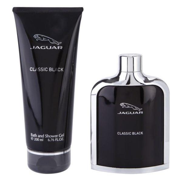 6a32e811ae Jaguar Classic Black Perfume Gift Set For Men (Jaguar Classic Black Perfume  100ml EDT +