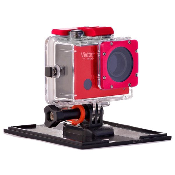 Vivitar DVR 914HD 4K Action Camera Red