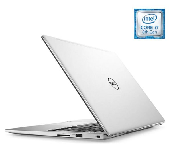 Dell Inspiron 13 7370 Laptop - Corei7 1.8GHz 16GB 512GB Shared Win10 13.3inch FHD Silver