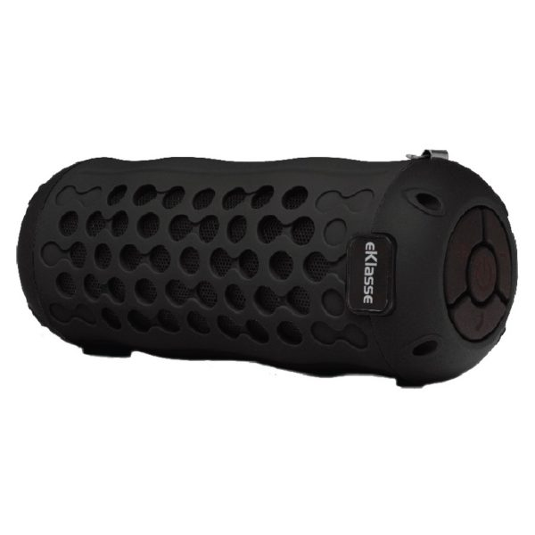 Eklasse Water Resistant Bluetooth Speaker Black EKBTSP11CE
