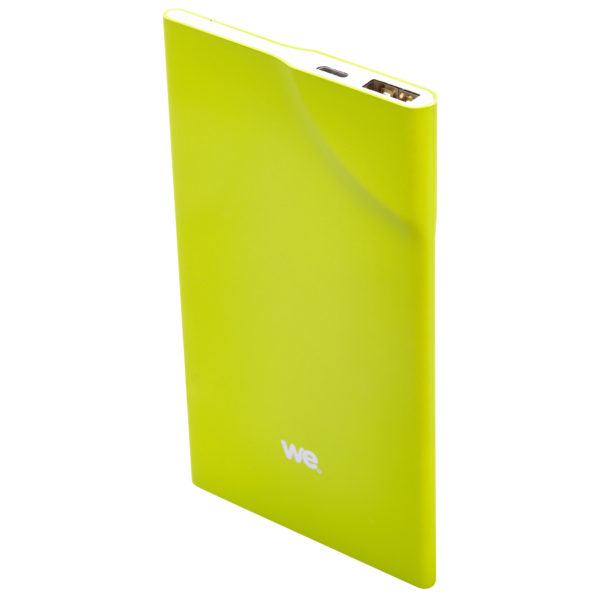 We WEBATT3200VE Power Bank 3200mAh 1USB 1A Ultrathin Green