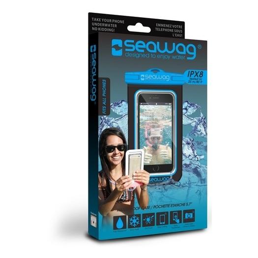 Seawag Waterproof Case For Smartphone Black/Blue - SEAWAGB2X
