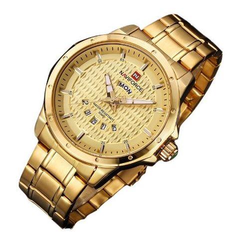 Naviforce Mens Watch Gold 9115