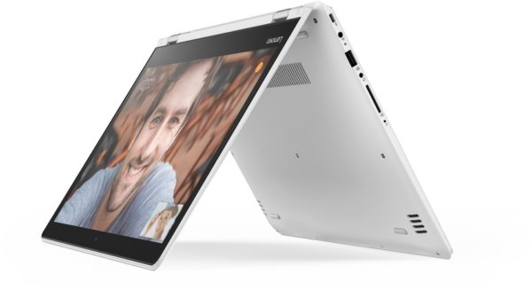 Lenovo Yoga 510 Convertible Touch Laptop - Core i5 2.5GHz 4GB 1TB Shared Win10 14inch FHD White