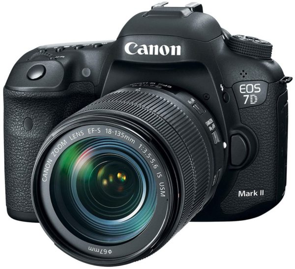 Canon EOS 7D Mark II (G) DSLR Camera Black With EF-S 18