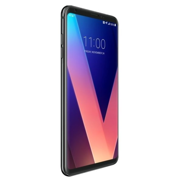 LG V30+ H930DS 4G LTE Dual Sim Smartphone 128GB Black + Case + Screen Protector
