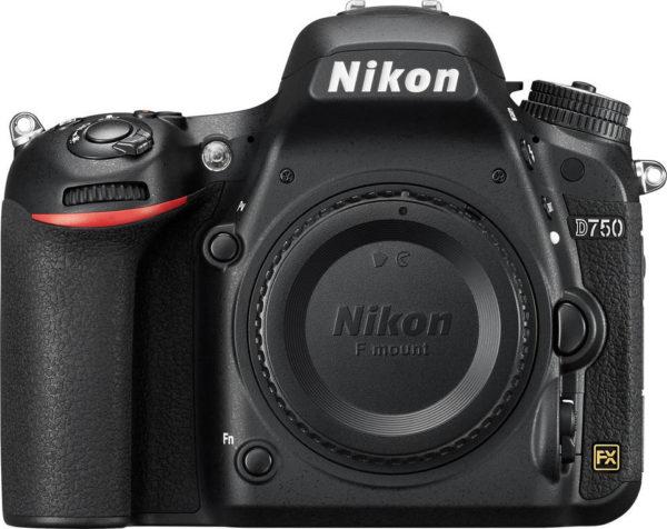 Nikon D750 Digital SLR Camera Body