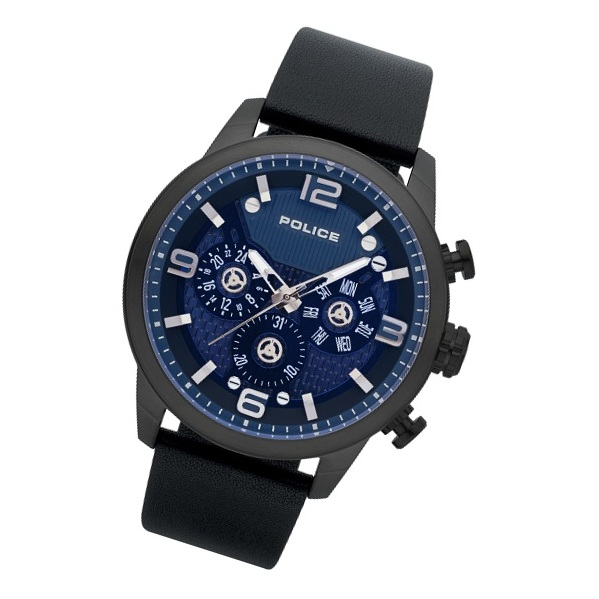 Police P 15415JSU-03 Key West Mens Watch