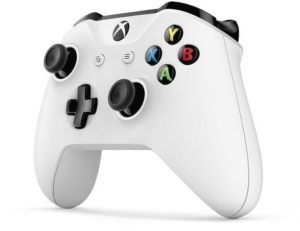 "Microsoft TF500004 Xbox One Wireless Controller White ""Discounted prices are applicable on a purchase of Xbox One console only"" (Promotion valid till 31st of Aug)."