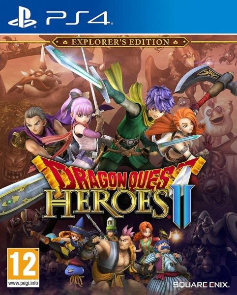 PS4 Dragon Quest Heroes II Explorers Edition Game