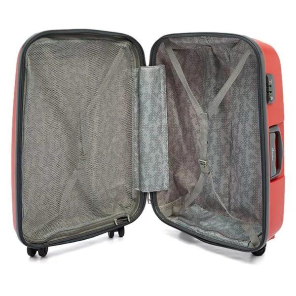 Senator Spinner Trolley Luggage Bag Red 19inch PPB-19_RED