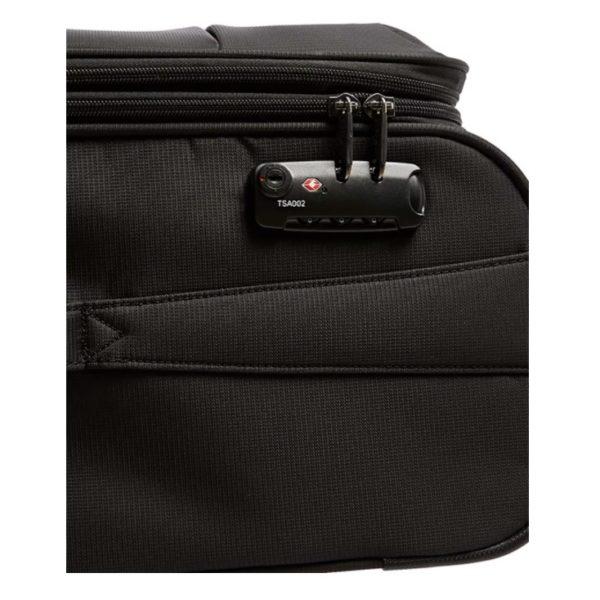 Eminent Soft Trolley Luggage Bag Black 24inch - V610124BLK