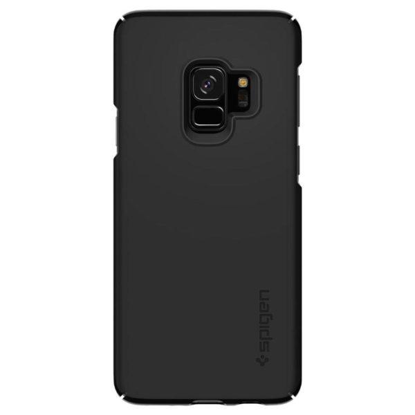 newest a5de9 5814e Buy Spigen Thin Fit Case Black For Galaxy S9 Plus – 593CS22908 ...