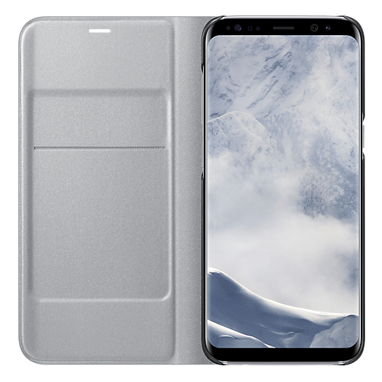 Samsung Flip Cover Silver For Galaxy S8+