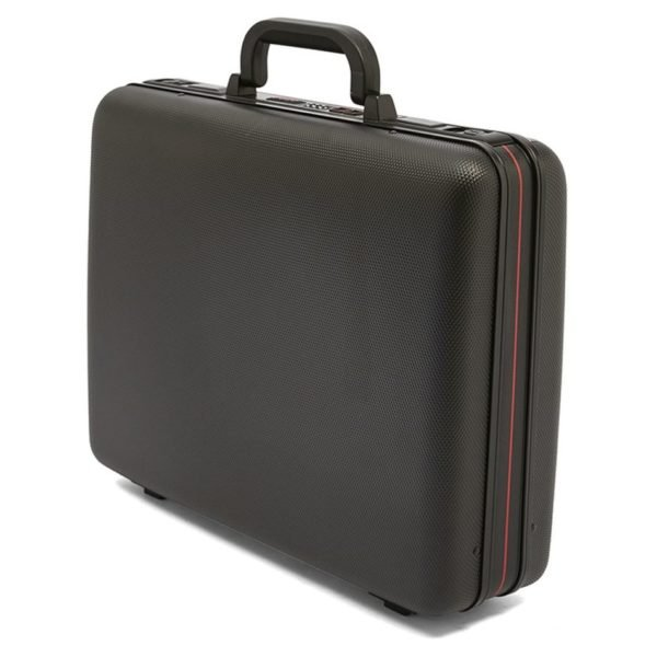 Eminent E210B18BLK PP Injection Hard Attache Case Black 18inch