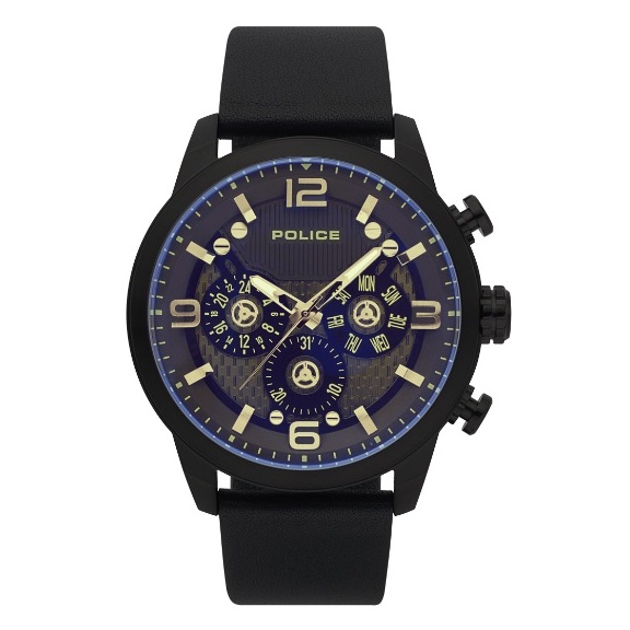 Police P 15415JSB-02 Key West Mens Watch