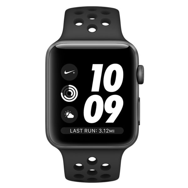 Apple Watch Nike+ Series 3 GPS - 38mm Space Grey Aluminium Case with Anthracite/Black Nike Sport Band