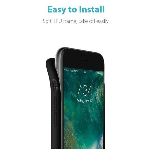 sports shoes 1fda3 539ab Buy Romoss Encase 7 Battery Case 2800mAh Black For iPhone 7 – Price ...