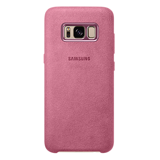 Samsung Alcantara Case Pink For Galaxy S8+ EF-XG955APEGWW