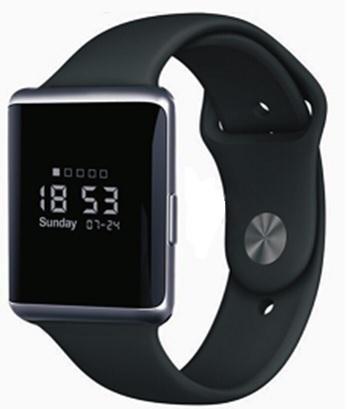 Eklasse EKSW02AR Smart Watch 0.95inch Black