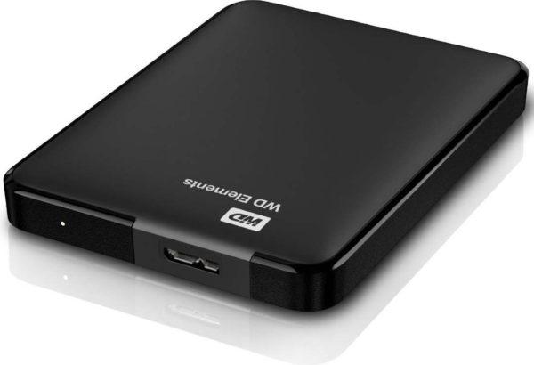 Western Digital WDBUZG0010BBK Element Portable Hard Drive 1TB Black