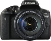 Canon EOS 750D DSLR Camera Black With 18-135mm IS STM Lens