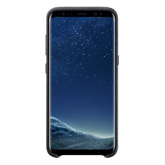 Samsung Alcantara Case Grey For Galaxy S8+ EF-XG955ASEGWW