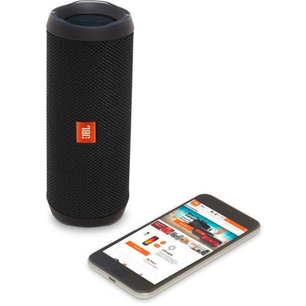 JBL FLIP4 Waterproof Portable Bluetooth Speaker Black