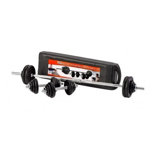 Skyland Dumbbell & Barbell Set 50kgs EM922150