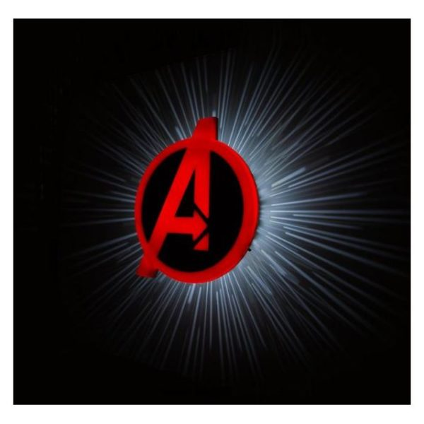 Buy 3DLightFX Avengers Logo 3D Decor Wall Light – Price ...