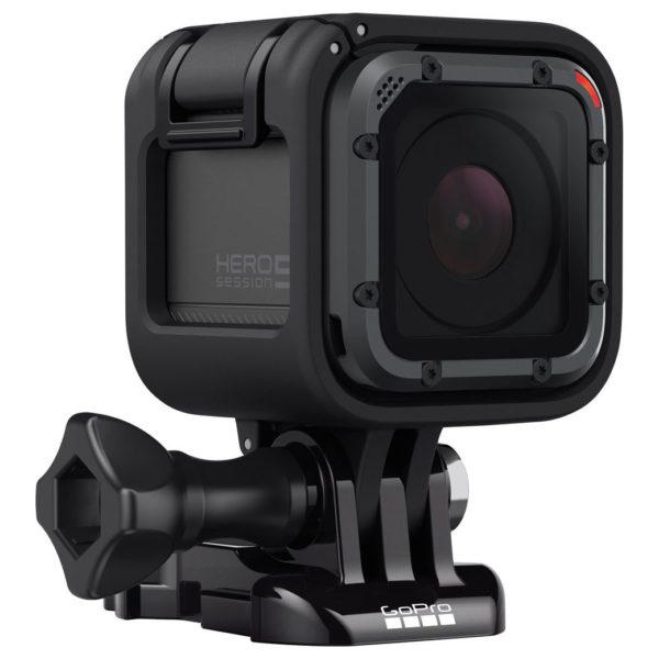 GoPro HERO5 Session Action Camera Black + POV Dive Buoy + POV Case Elite + Chest Mount + FlexMount + Strap Mount + Adapter Set