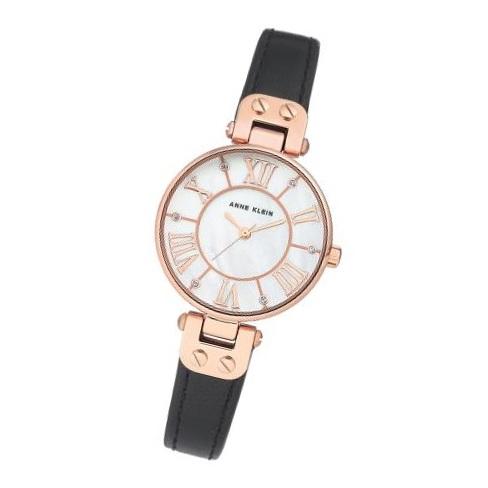 Anne Klein AK2718RGBK Ladies Watch