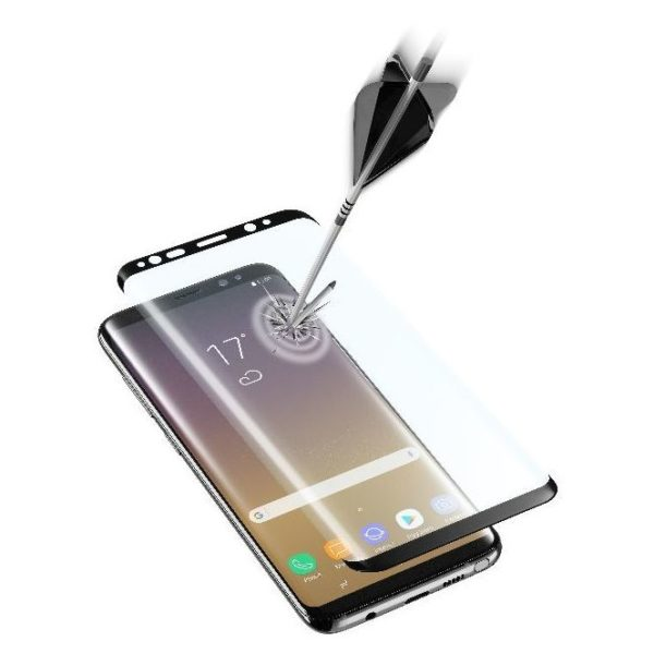 Cellular Line Curved Tempered Glass Screen Protector For Samsung Galaxy Note 8 - TEMPGCUNOTE8K