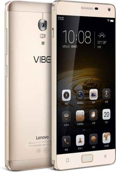 Buy Lenovo Vibe P1 4G Dual Sim Smartphone 32GB Gold – Price