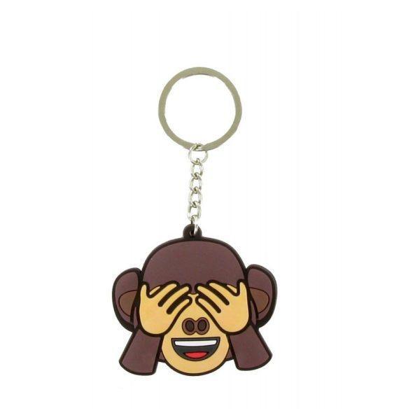 Comansi Emoji Eyes Monkey Keychain E10017