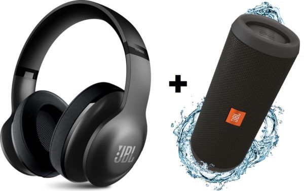 Buy Jbl Around Ear Wireless Headphone V700bt Assorted Flip3 Portable Bluetooth Speaker Price Specifications Features Sharaf Dg
